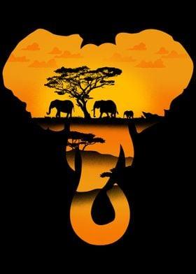 Elephant Africa Outdoors