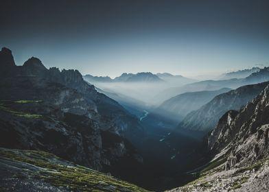 A morning at Dolomites