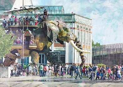 Elephant from Nantes