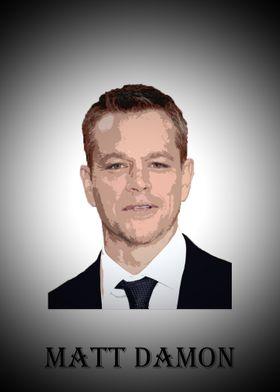 Matt Damon Poster