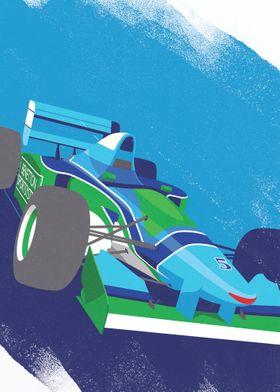 Benetton B194 F1 Car