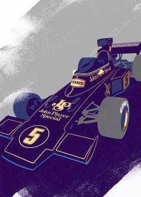 Lotus 72 F1 Car