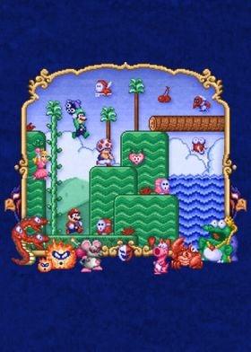 Mario Super Bros Too