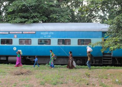 Indian Train Colors