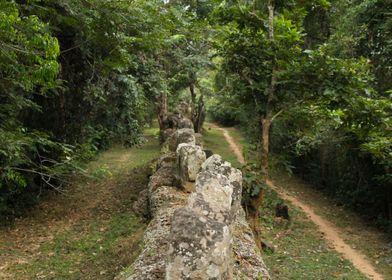 Ankor Wat Wall