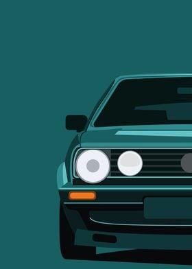Classic 90s VW Golf
