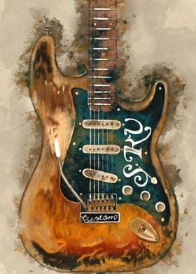 Stevie Ray Vaughan axe
