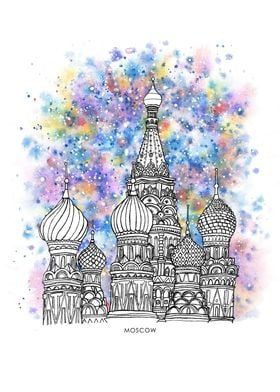 Colorful Moscow