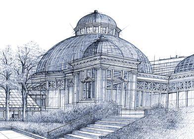 Hand Drawn Allan Gardens