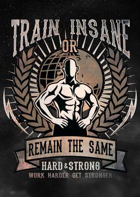 Gym Motivation Train Hard