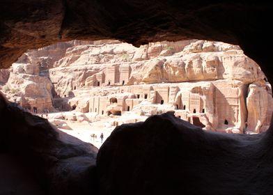 Petra soon through a cave