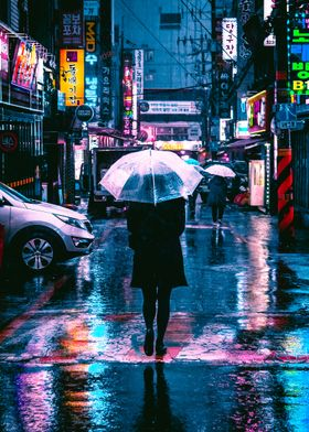 Incheon Rain Edit