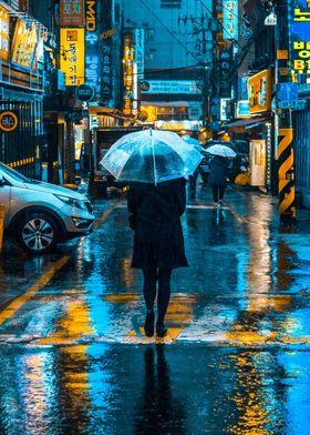 Incheon Rain Color Collect