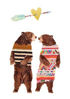 Dancing Bear Couple