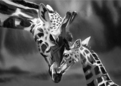 BW challenge giraffe