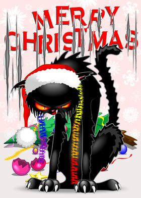 Cat VS Christmas Tree