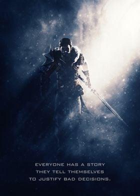 Hawke of Dragon Age