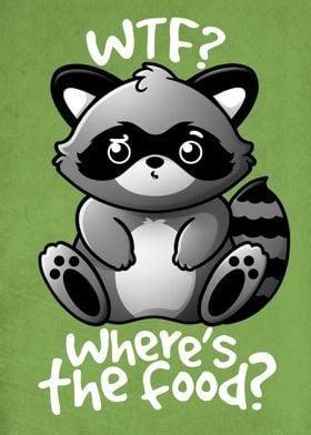 WTF Raccoon
