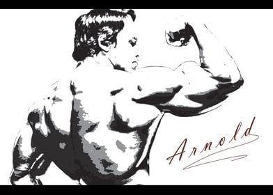 Arnold Rear Bicep Shot