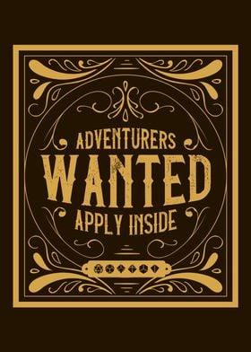RPG Adventurers Wanted