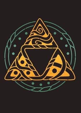 Zelda Triforce Viking Art