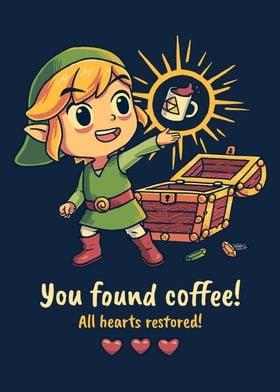Zelda Toon Link Coffee