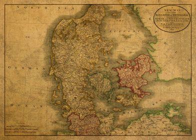 Denmark Map 1801
