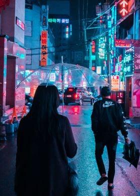 Cyberpunk Seoul