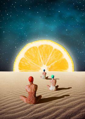 DesertMoonlight Meditation