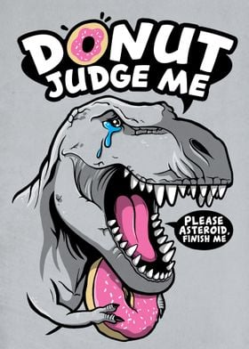 Donut judge the t rex