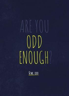 Are You Odd Enough