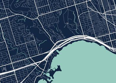Toronto City Map  Tile 7