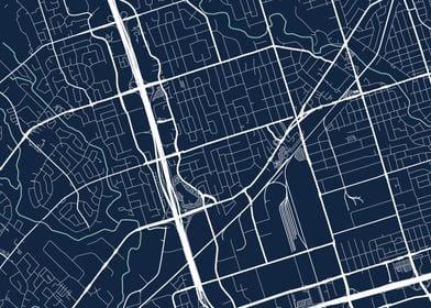 Toronto City Map  Tile 8