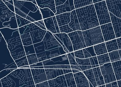 Toronto City Map  Tile 2
