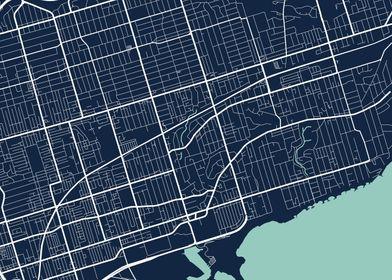Toronto City Map  Tile 4