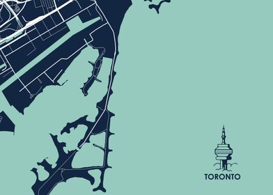 Toronto City Map  Tile 5