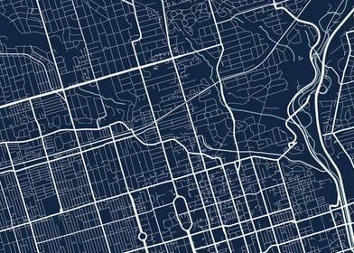 Toronto City Map  Tile 3