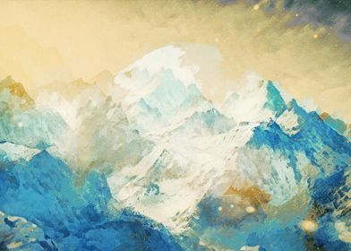 Winter Mountain Dream