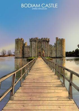 Bodiam Castle in the UK