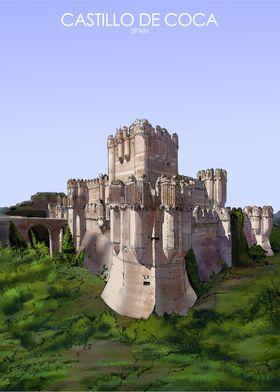 Castillo de Coca in Spain