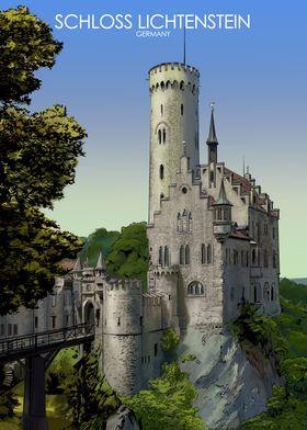 Lichtenstein Castle German
