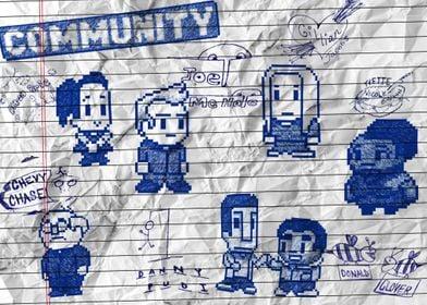 Community College Doodles