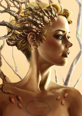 Druida fantasy art