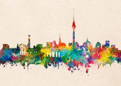Berlin watercolor