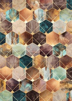 Natural Hexagons