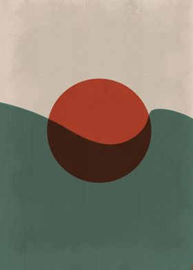 Abstract Geometry Vintage