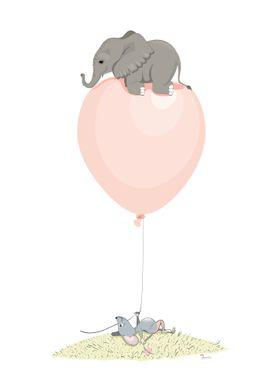 Flying elephant 2
