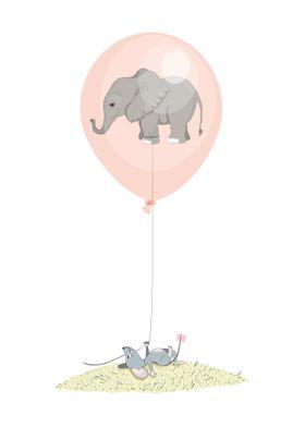 Flying elephant 1