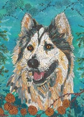 Woodland Husky