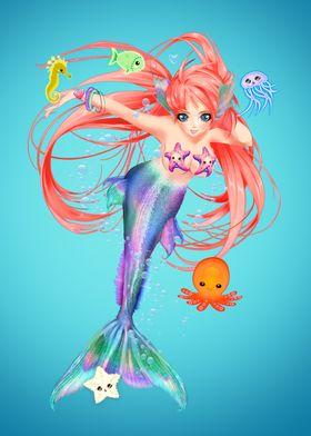 Manga Mermaid